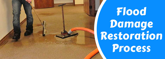 Residential Flood Water Damage Restoration Albert Park