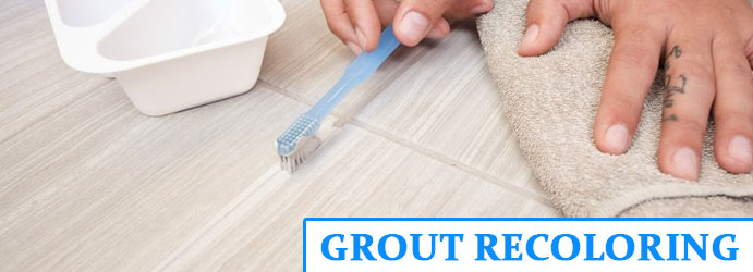 Grout Recoloring Chapel Hill