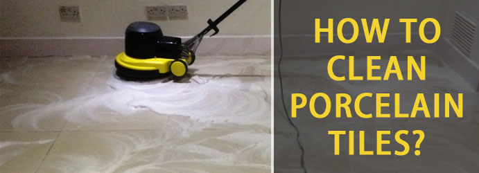 How to Clean Porcelain Tiles?